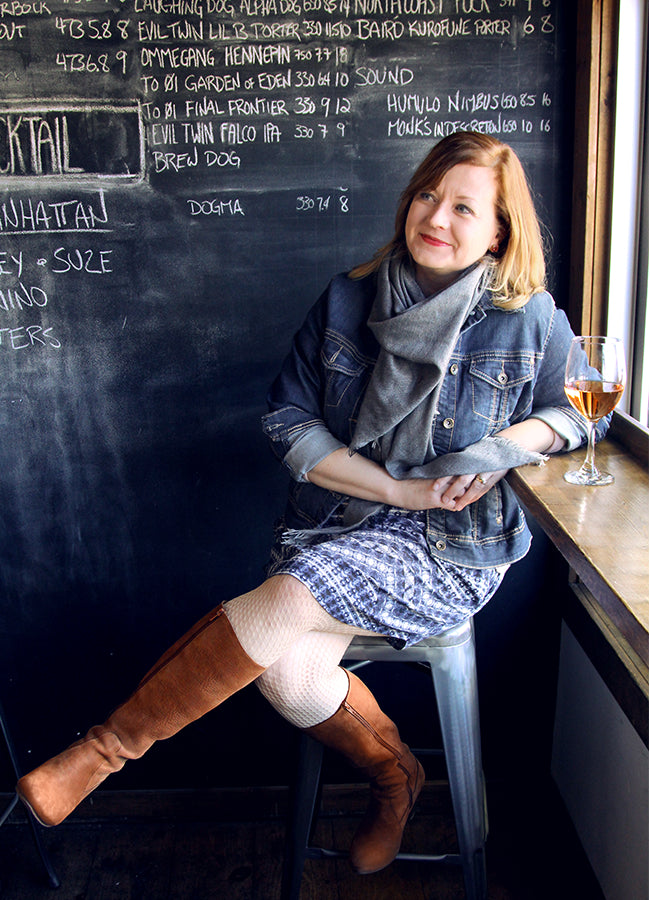 In Her Shoes - Sasha McCauley shows off her Poppy Barley boots and shoes