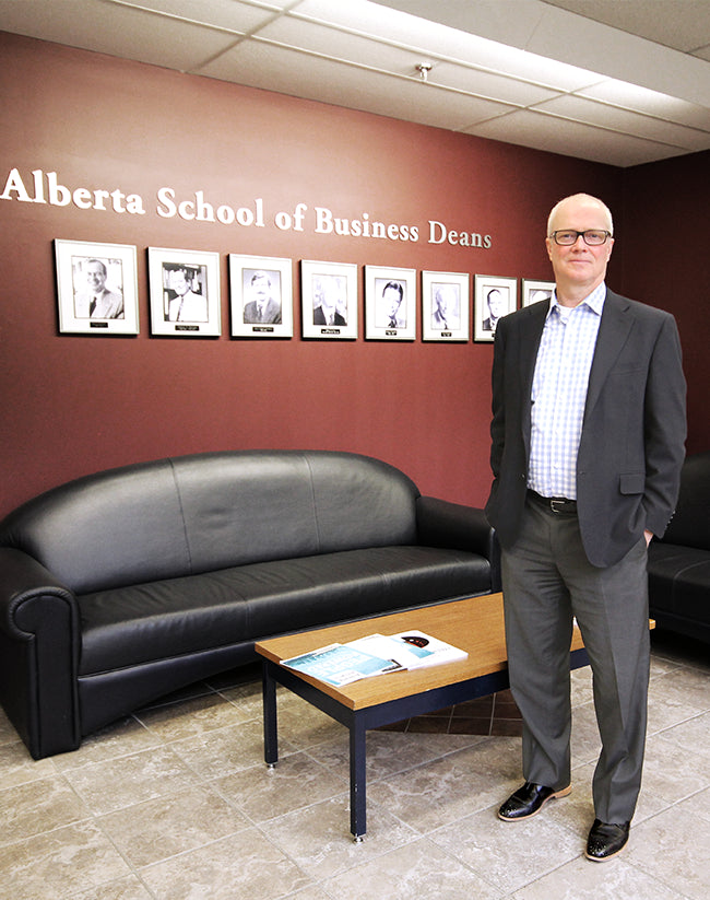 In His (Poppy Barley) Shoes: Joseph Doucet, Dean of the Alberta School of Business
