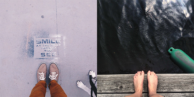 #PBWorthWalking Instagram Entrants - Shoes, Water