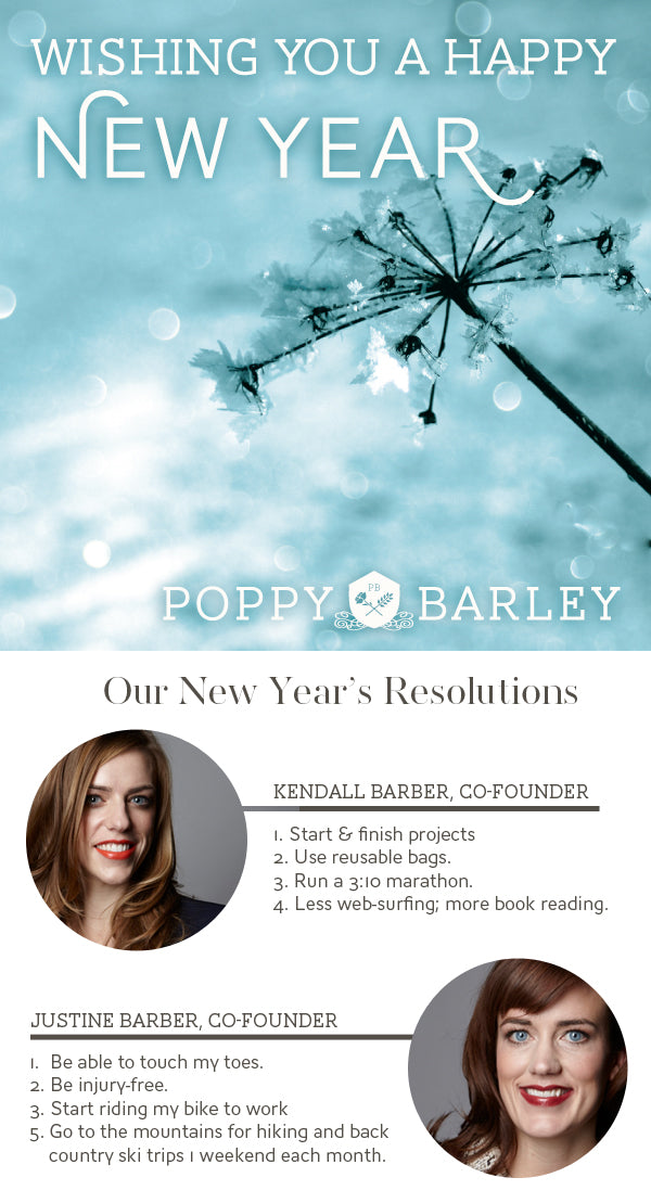 Happy New Year from Poppy Barley