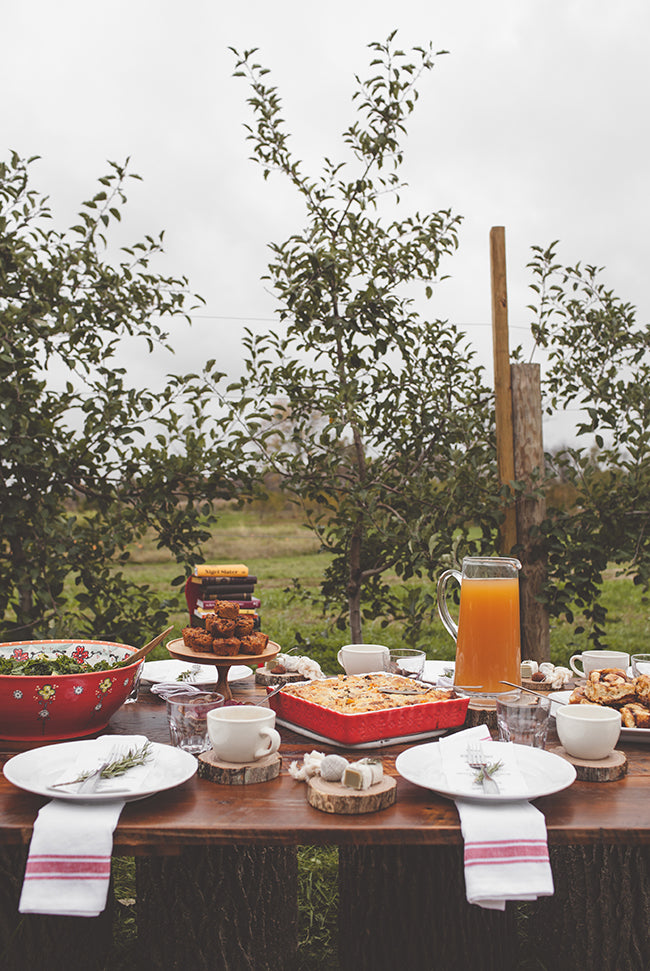 Poppy Barley Orchard Brunch with Tiffany Mitchell and Elizabeth Cauvel