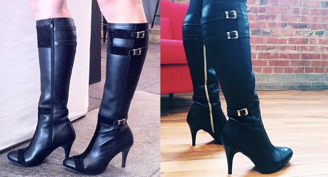 Poppy Barley Custom Heeled Boots