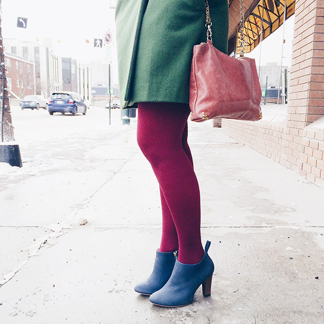 The Classic Ankle Bootie - Narrow to wide feet - blue leather ankle booties - Poppy Barley