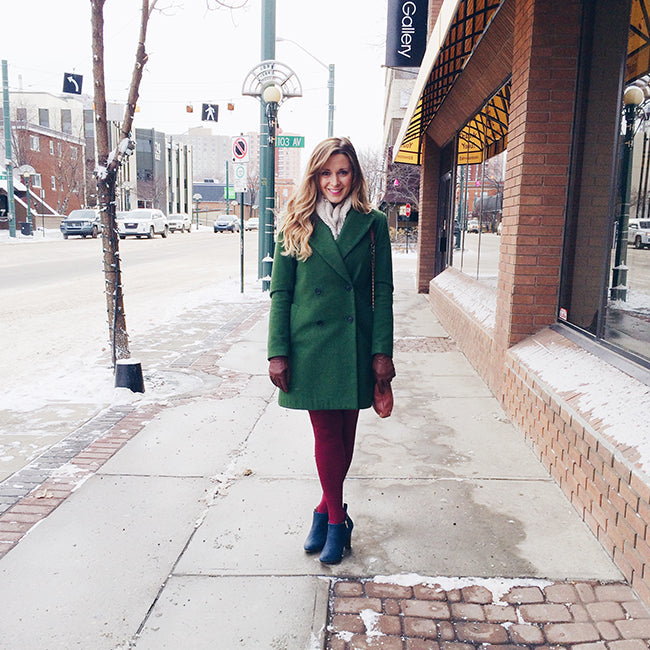 Poppy Barley - 5 Minutes With: Kari Skelton. Kari wears comfortable and stylish ankle boots