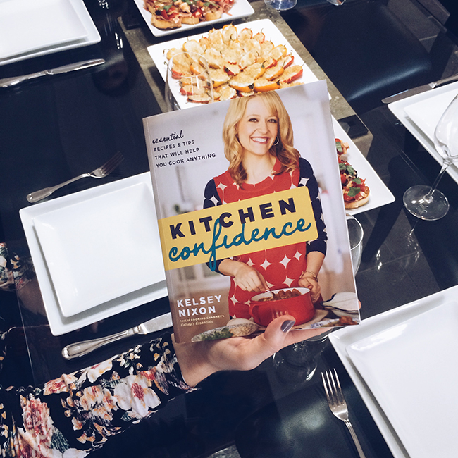 #PoppyBarleyThanksgiving - The Poppy Barley Team creates a Thanksgiving Dinner using Kelsey Nixon's cookbook, Kitchen Confidence. Poppy Barley offers made-to-measure shoes and boots, custom to wide, narrow and standard widths.