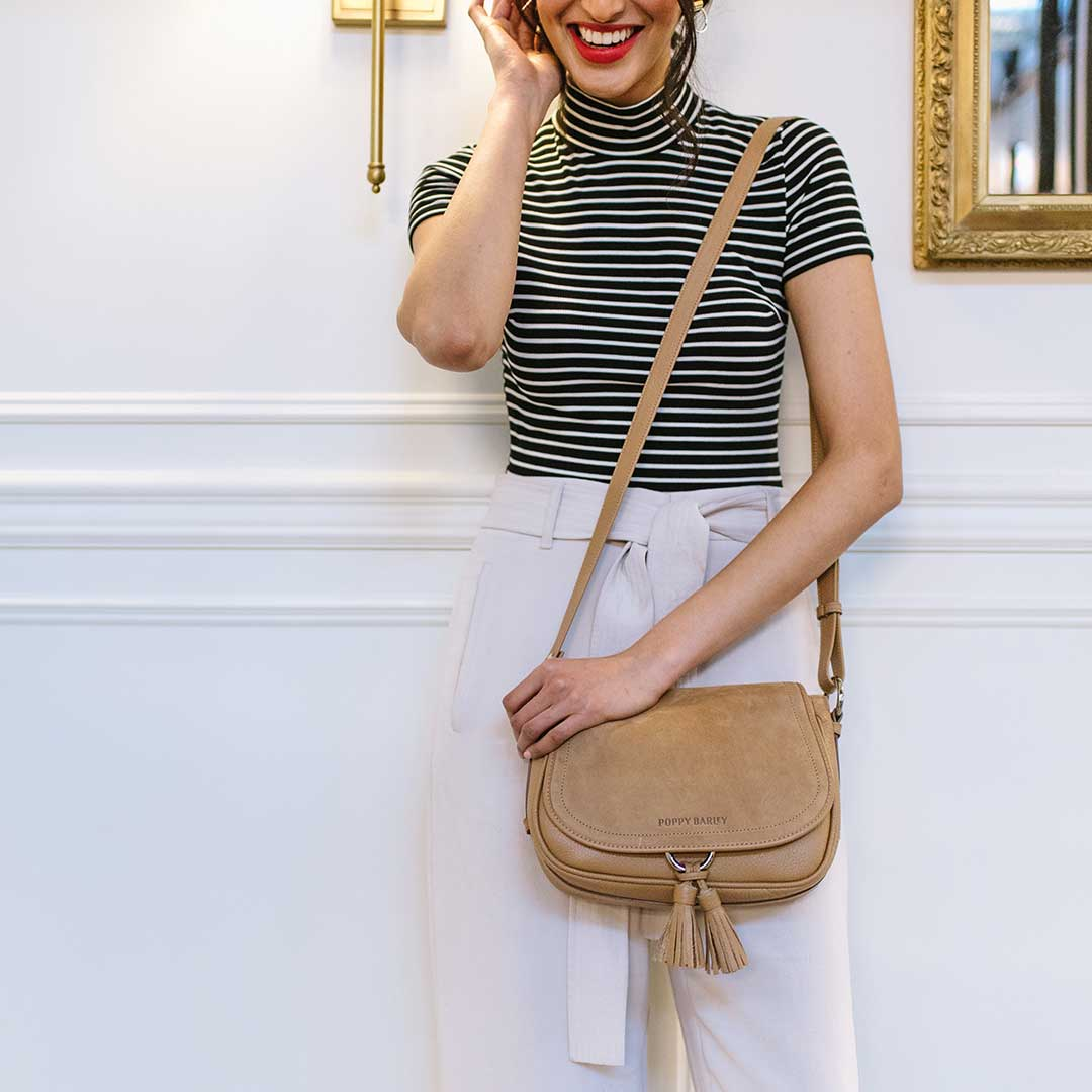 The Saddle Bag - Poppy Barley
