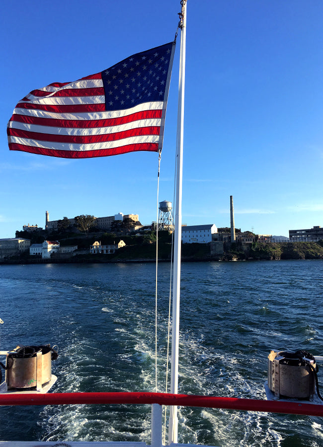 Alcatraz, San Francisco, California - How to Work Remotely - Poppy Barley
