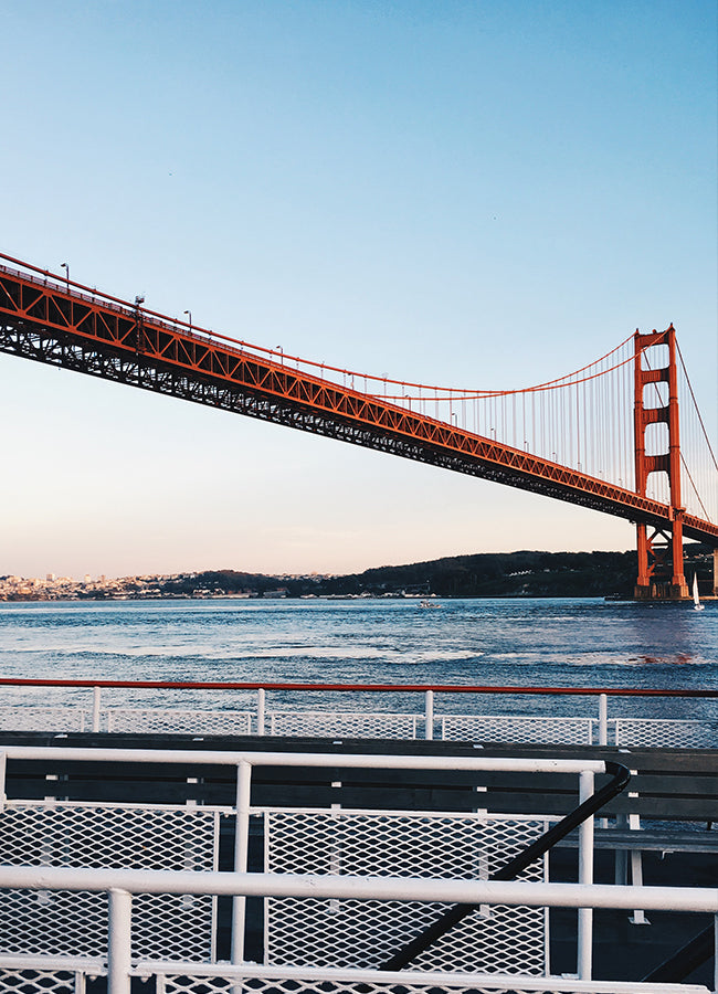 The Golden Gate Bridge, San Francisco, California - How to Work Remotely - Poppy Barley