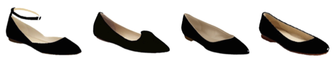 Comfortable Shoes For Women - Leather pointed toe flats - Spring 2013 Flats Collection - Poppy Barley