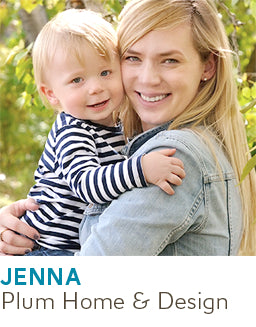 Moms Who Run Businesses - Jenna from Plum Home & Design - Poppy Barley Magazine