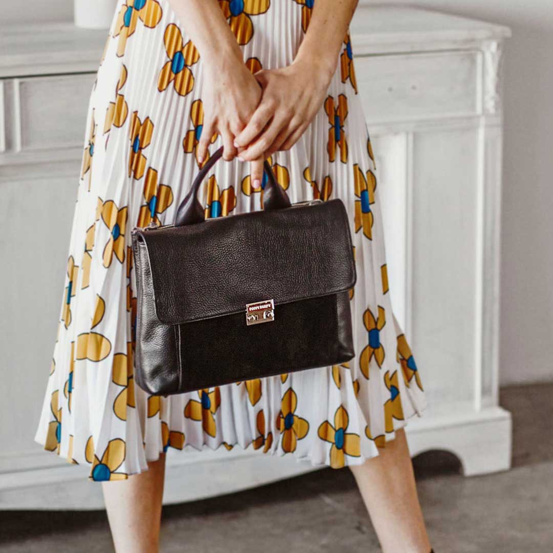 The Spring 2019 Accessories - The Shoulder Satchel- Poppy Barley