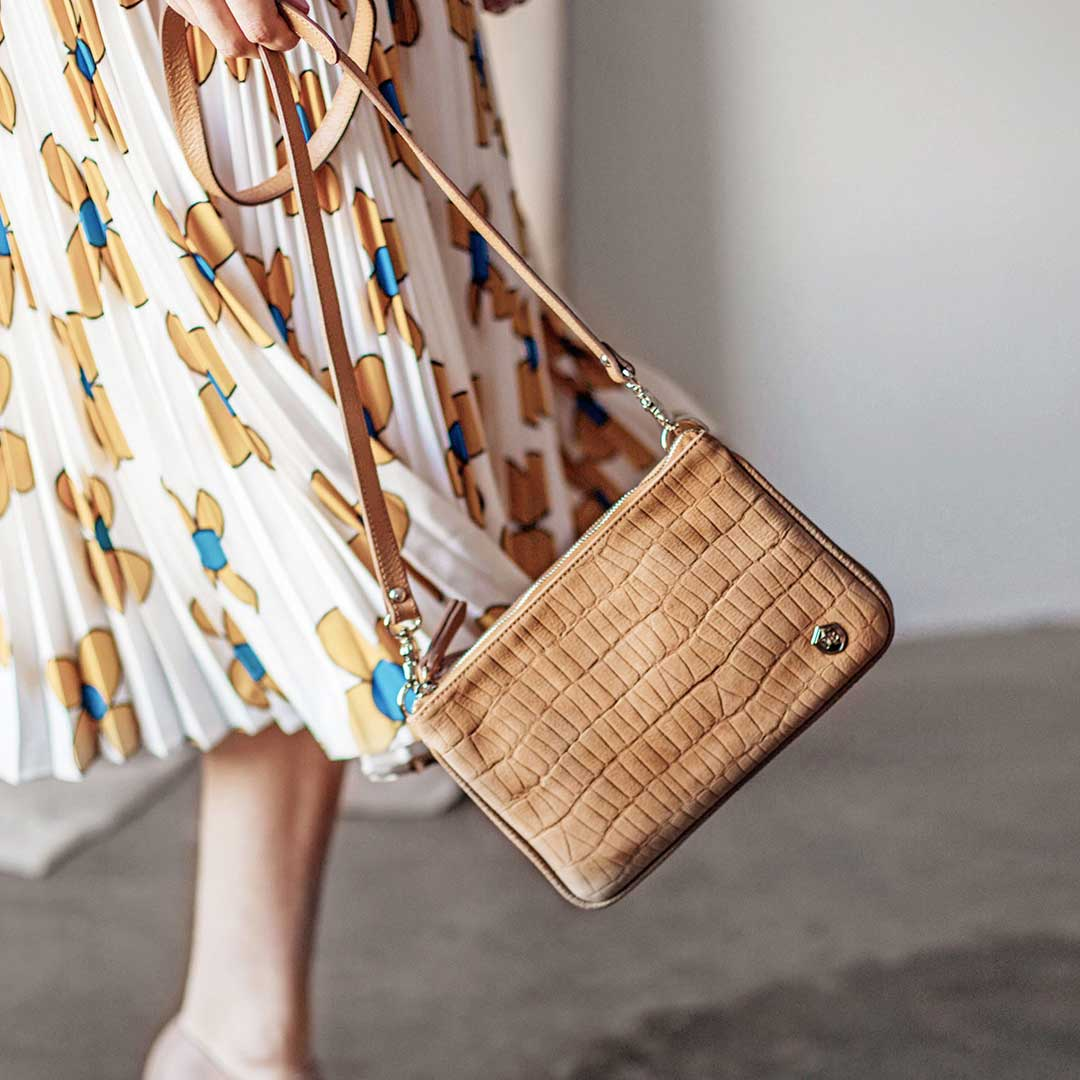 The Spring 2019 Accessories - The Essentials Purse- Poppy Barley