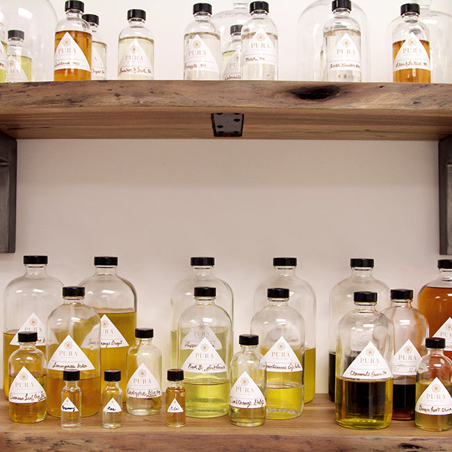The Tutorial - Pura Botanicals Lane Edwards writes about bespoke perfume and how scent triggers memory