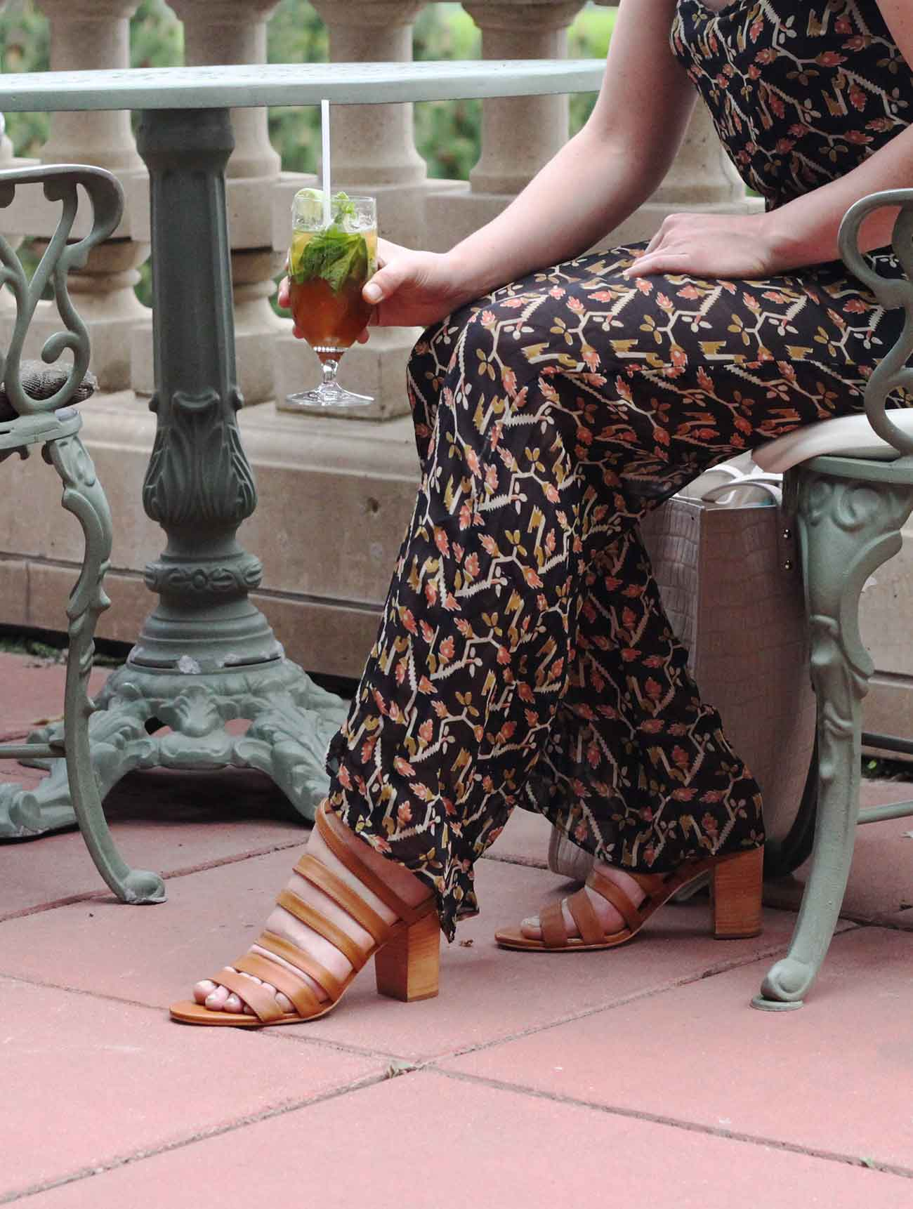 Style Guide - The Victoria Heeled Sandal - Poppy Barley