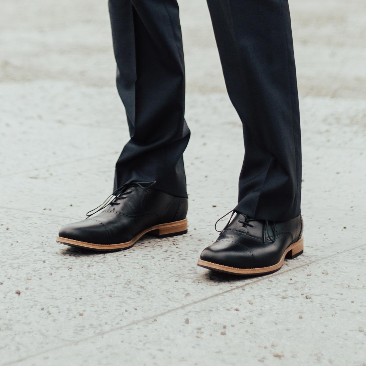 The Toronto Brogue - Poppy Barley