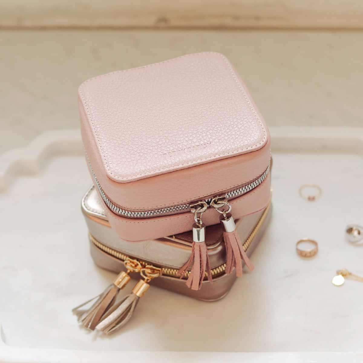 TThe Travel Jewelry Case  - Poppy Barley