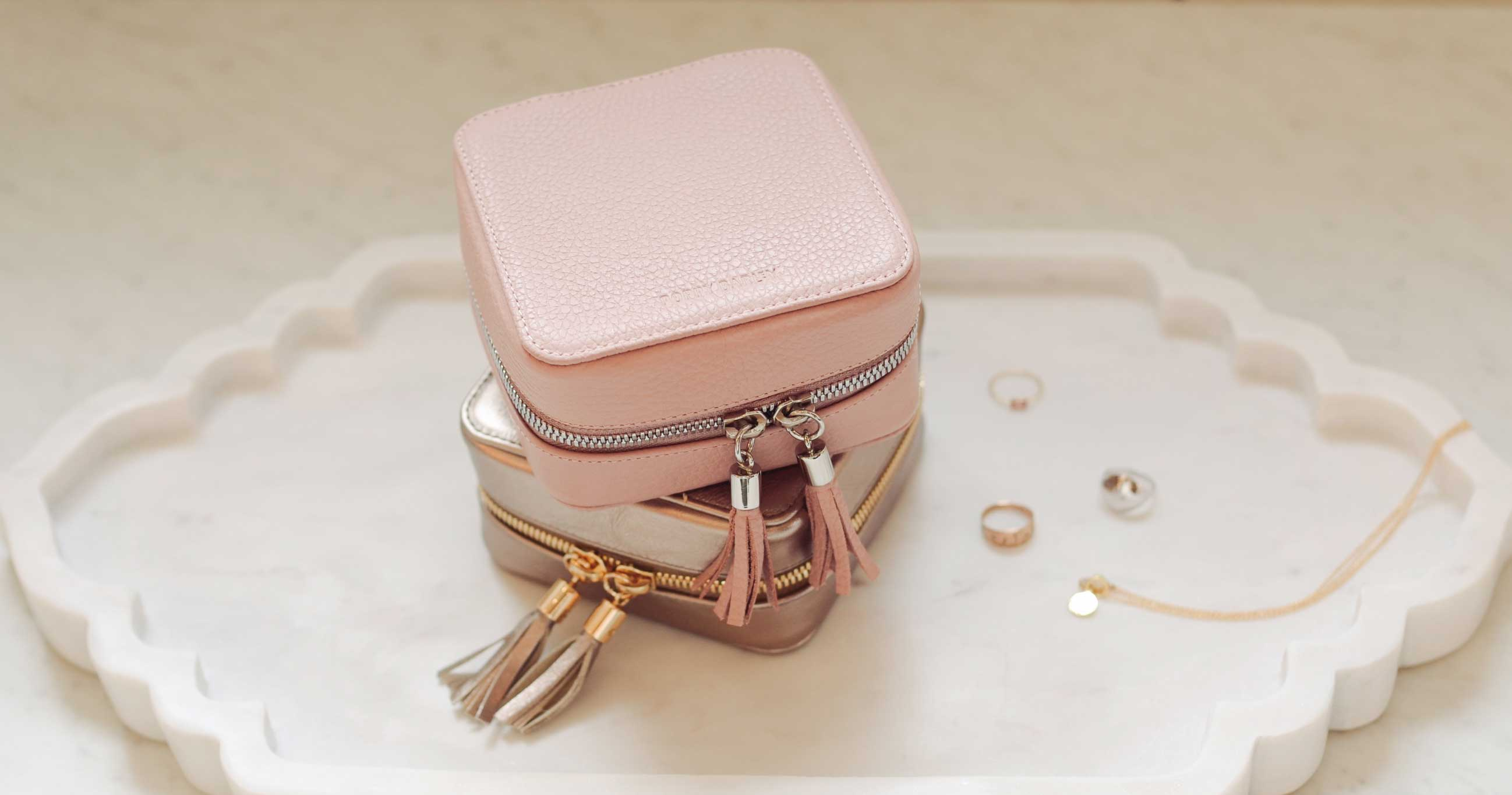The Travel Jewelry Case - Poppy Barley