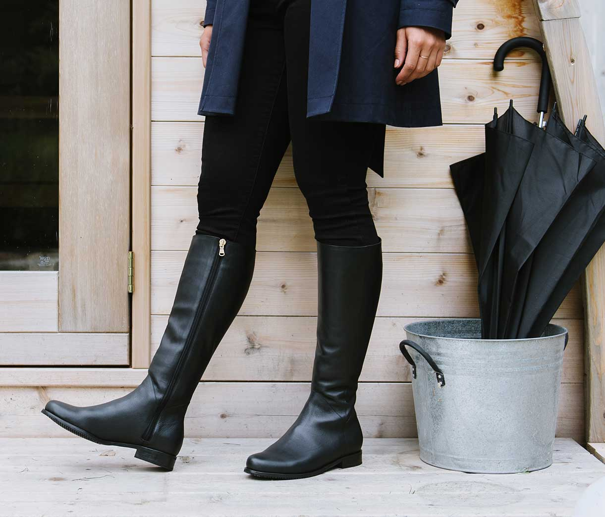Water-Resistant Leather - Poppy Barley