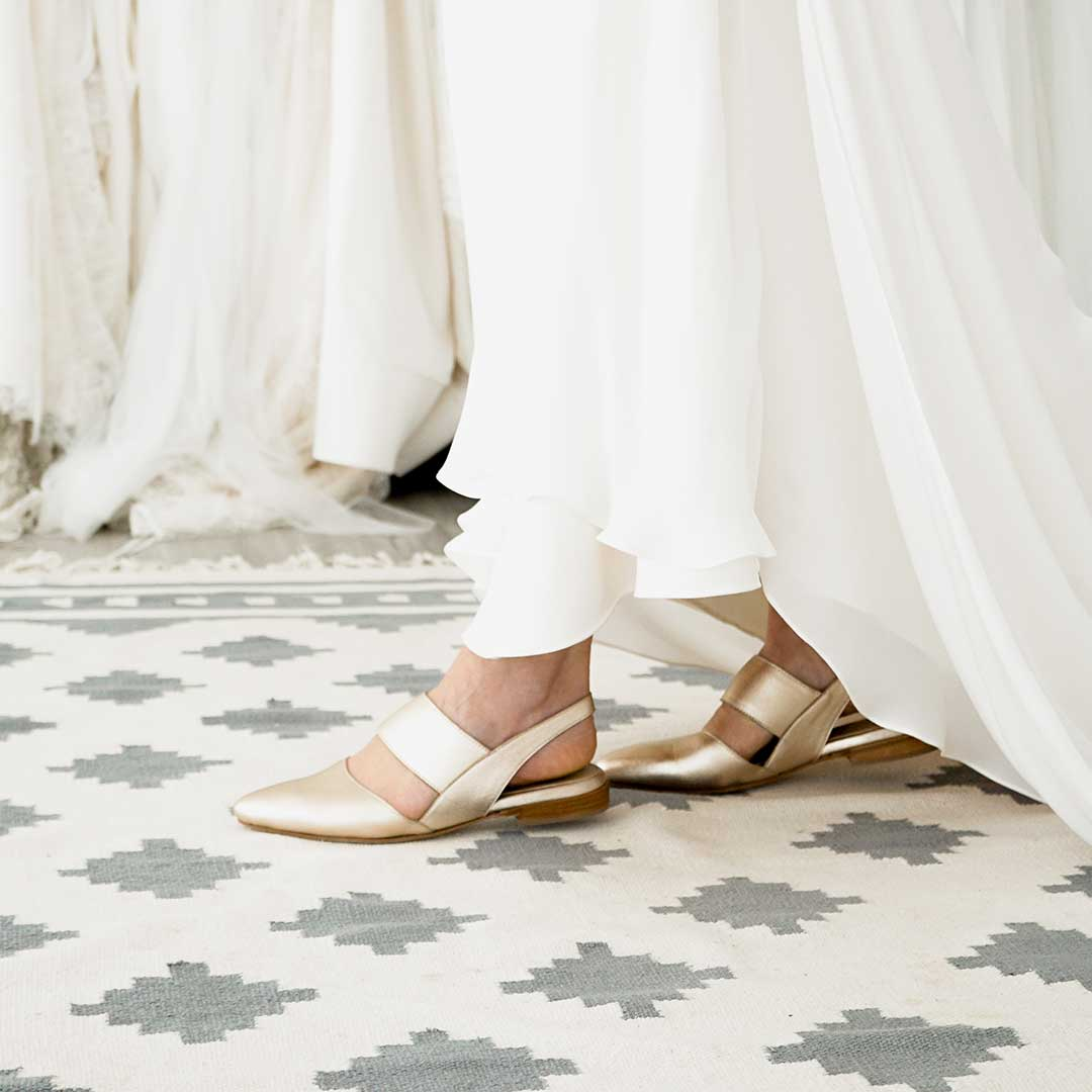 Poppy Barley Women's Wedding Guide - modern-rustic wedding shoes for brides & bridesmaids