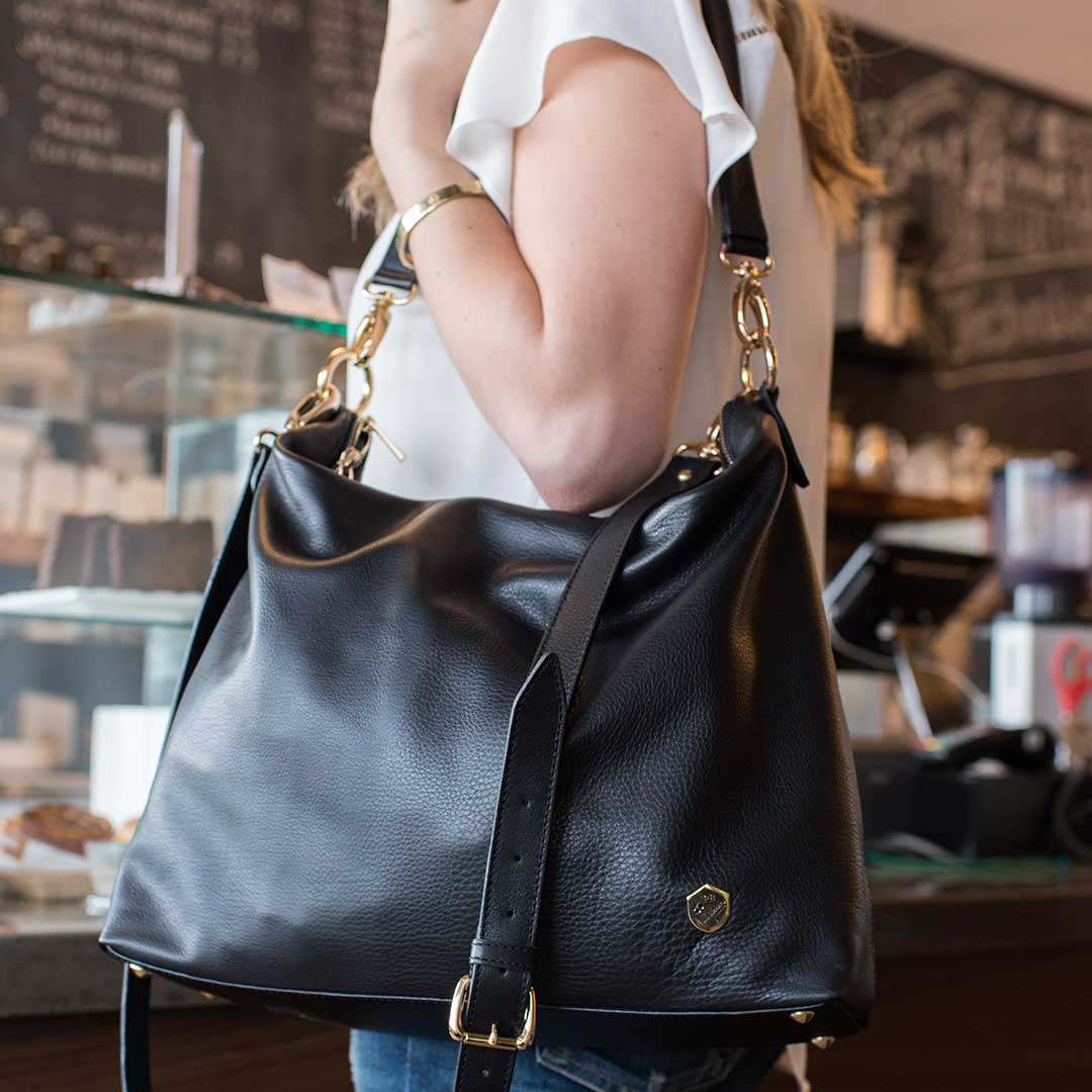 The Hobo Tote - Poppy Barley