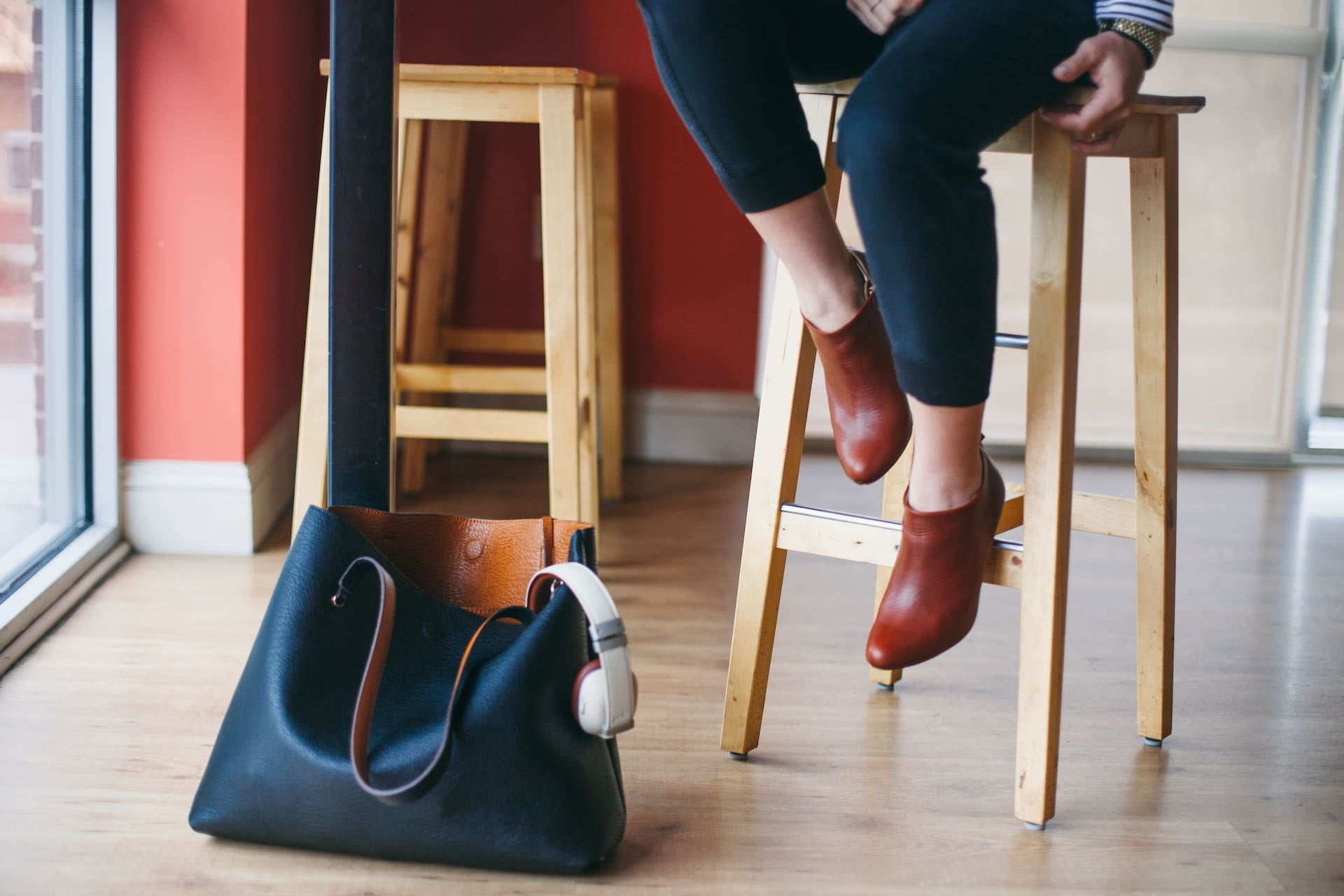 Poppy Barley: The Classic Ankle Bootie - Cognac, by Anna Liesemeyer at In Honour of Design and The Brand Market