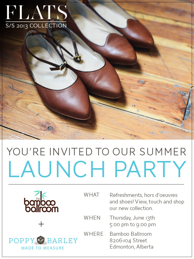 Poppy Barley Flats Collection Launch Party