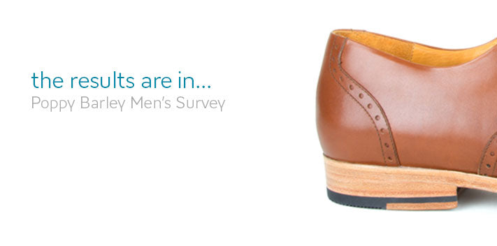 Men shoes - Poppy Barley survey