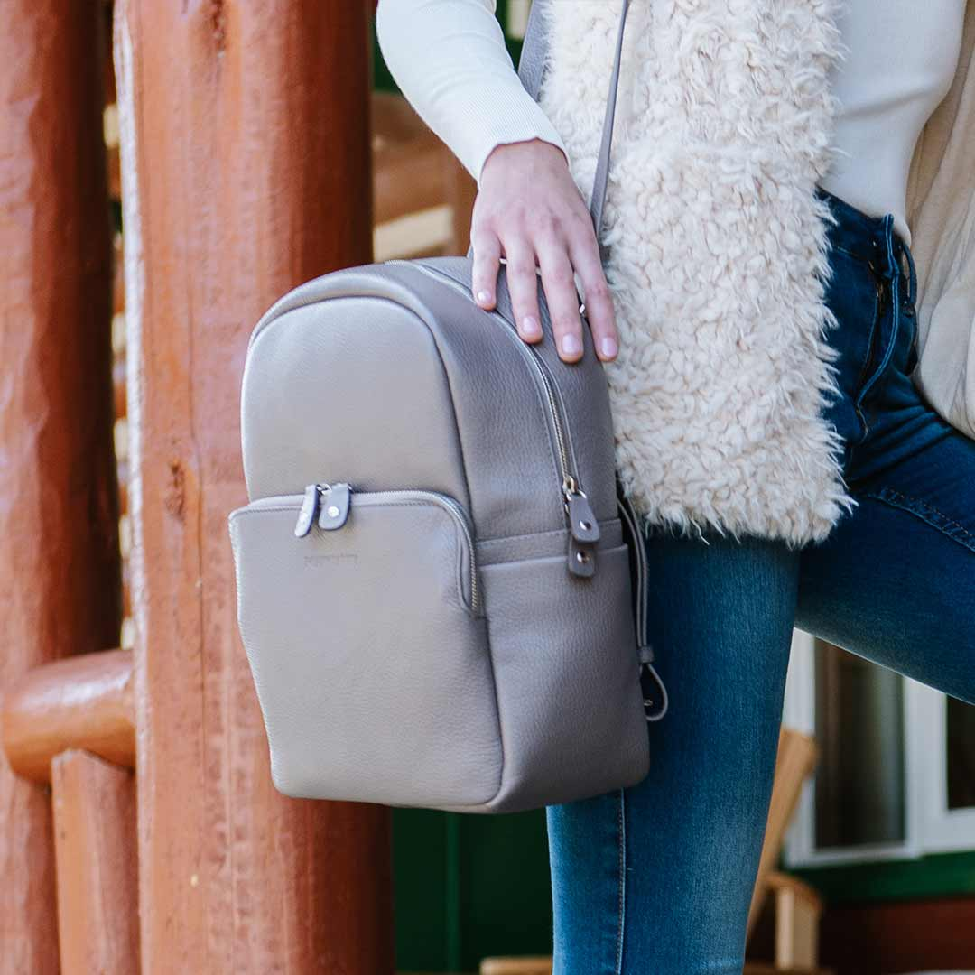 The Mini Backpack - Poppy Barley
