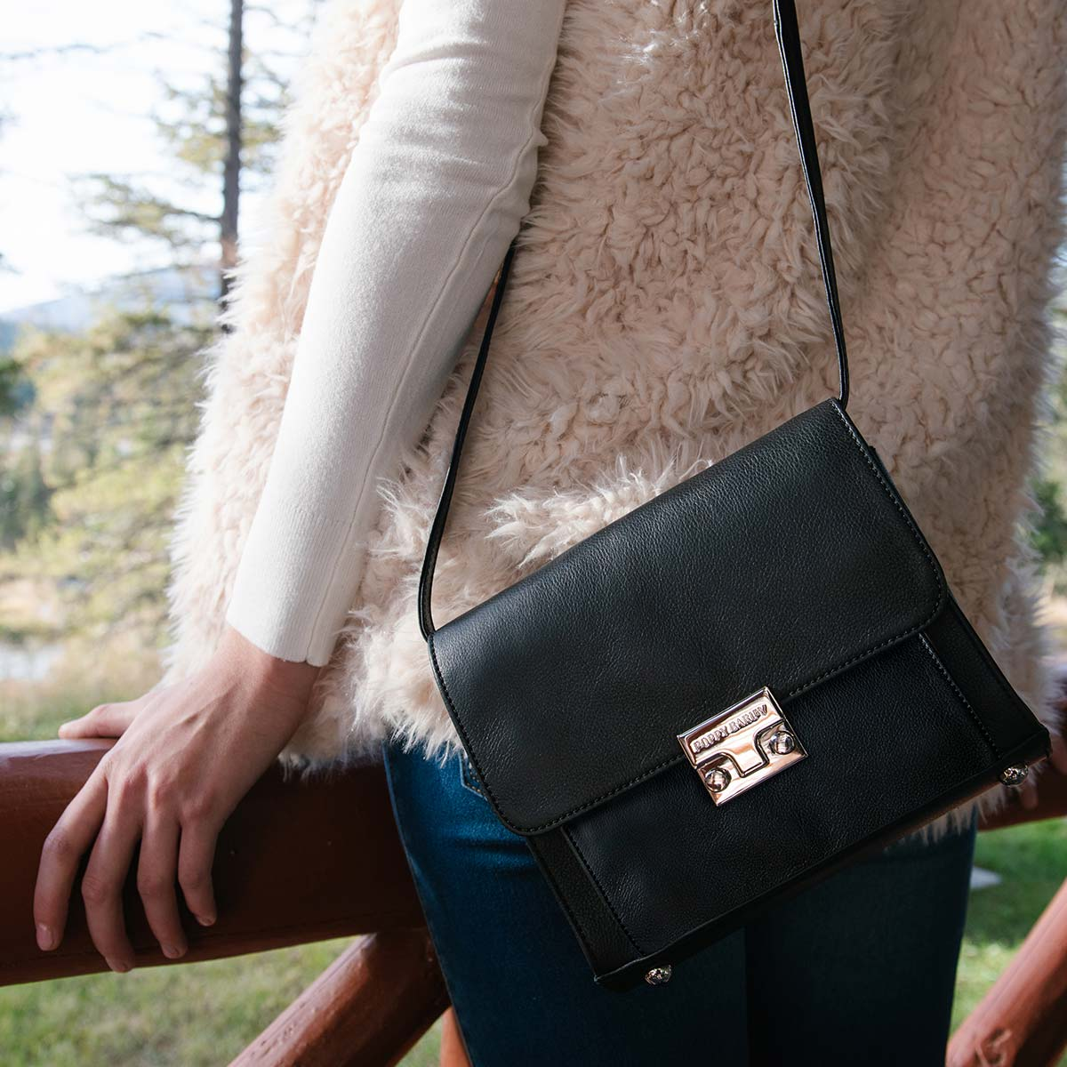 The Mini Shoulder Satchel - Poppy Barley