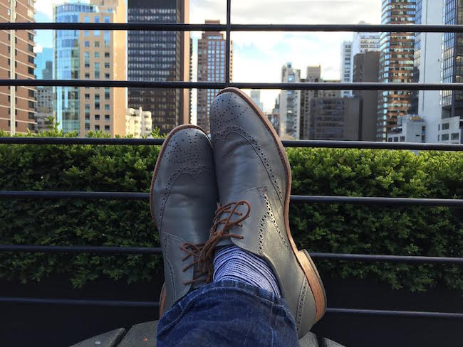 5 minutes with James Neufeld of Social Asset Management. Poppy Barley offers custom dress shoes in mens sizes 5-15.