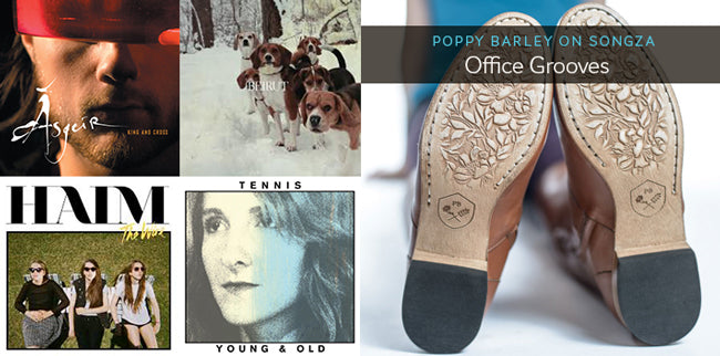 Poppy Barley Songza Playlist: Office Grooves