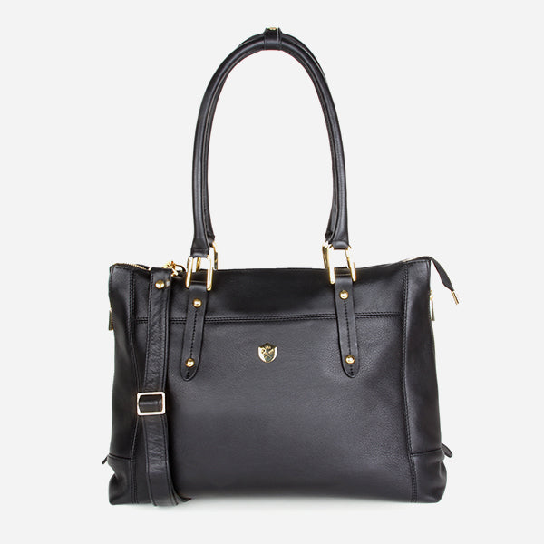 The Perfect Handbag Black - Poppy Barley