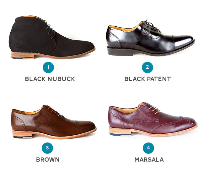 Men's Product Poll: Poppy Barley Leather Colours for Fall 2015