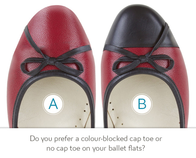 Poppy Barley Product Development Poll: Cap Toe Ballet Flats