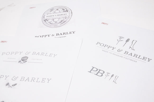 Poppy Barley Start Up Creating a Brand Culture Typography