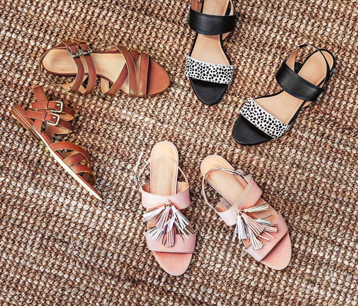 Summer 2019 - Flat Sandals - Poppy Barley