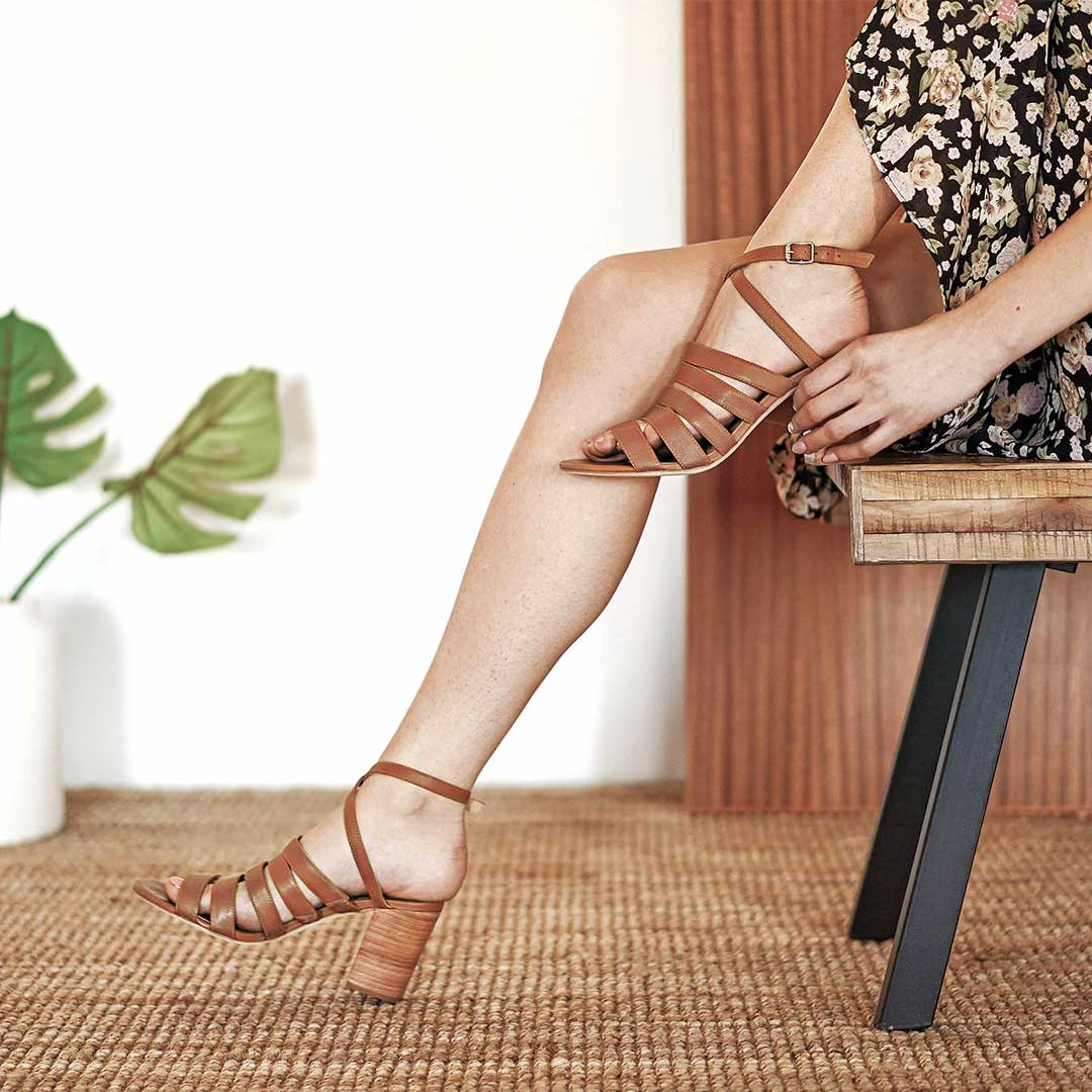 Summer 2019 - Heeled Sandals - Poppy Barley