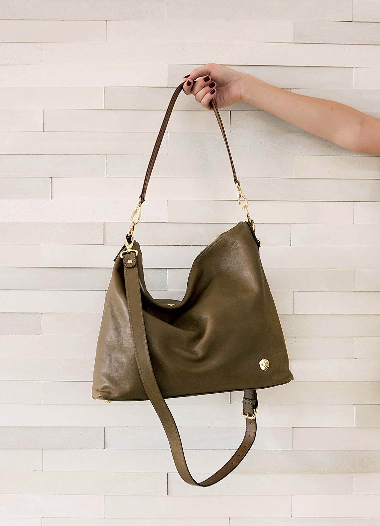 The Hobo Tote in Olive - Poppy Barley