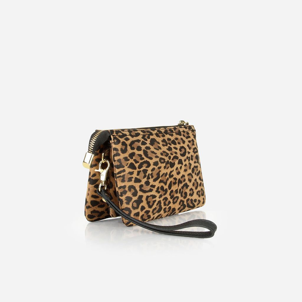 The 3-In-1 Wristlet Leopard