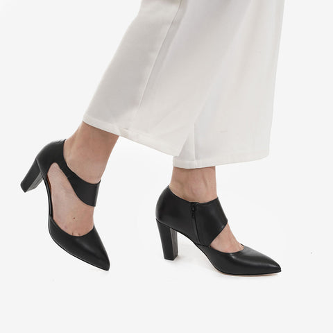 The Meghan Cutout Heel Black Ready To Wear