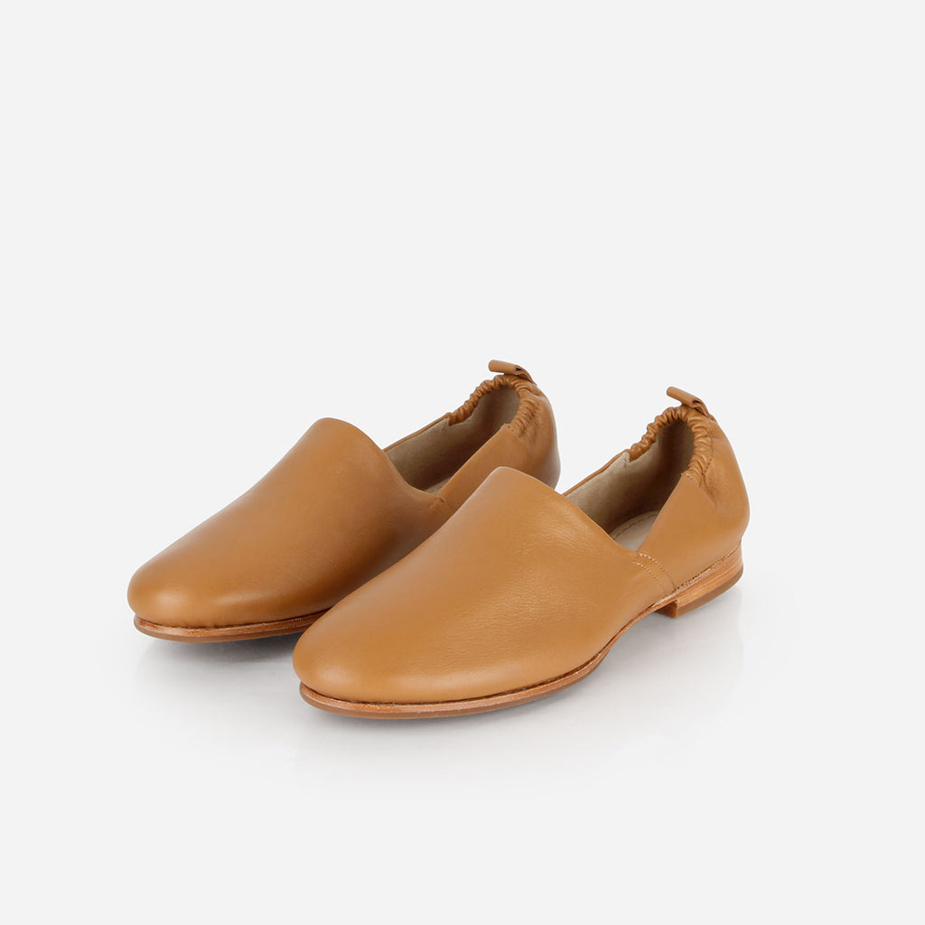 The At-Leisure Slip-On Caramel Ready To Wear