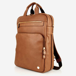 The Backpack Toffee Tan