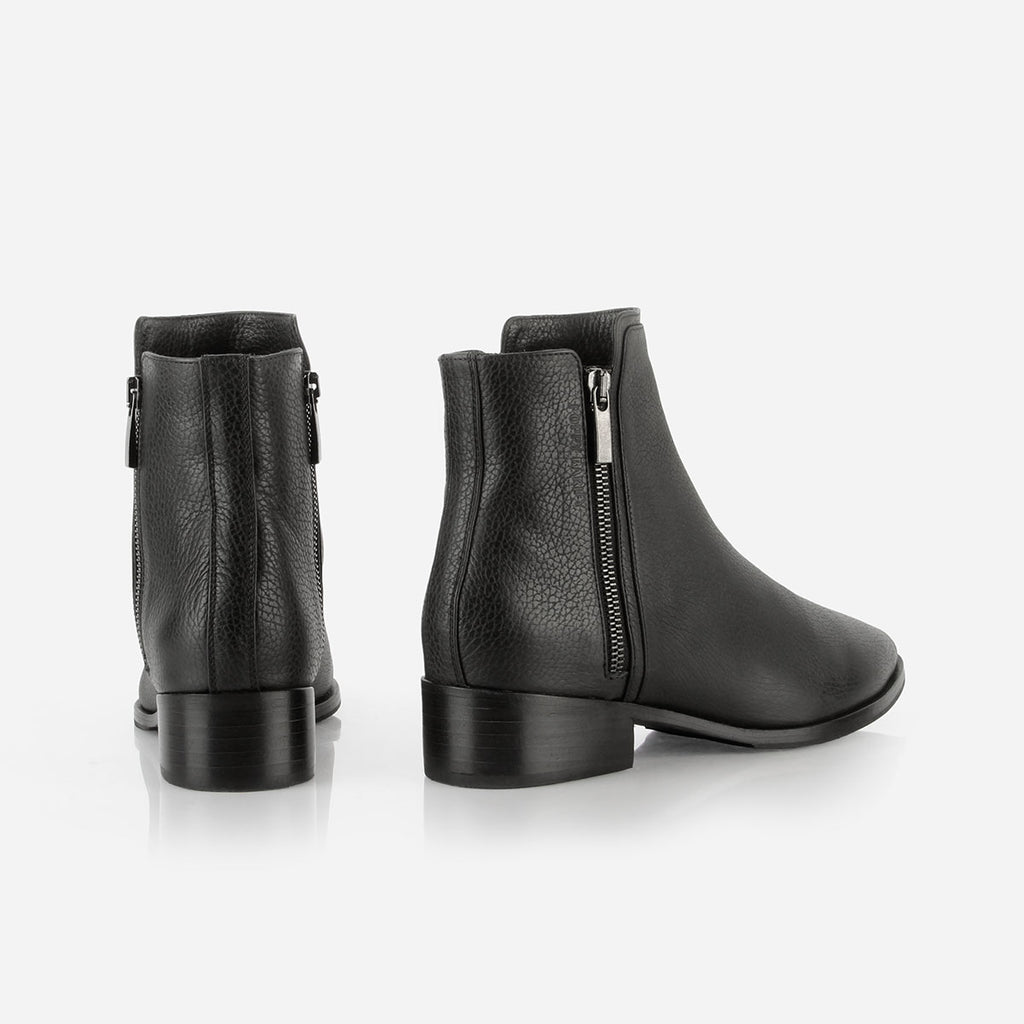 The Backstage Boot Black Pebble Ready To Wear