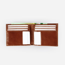 The Men's Bifold Wallet Cognac