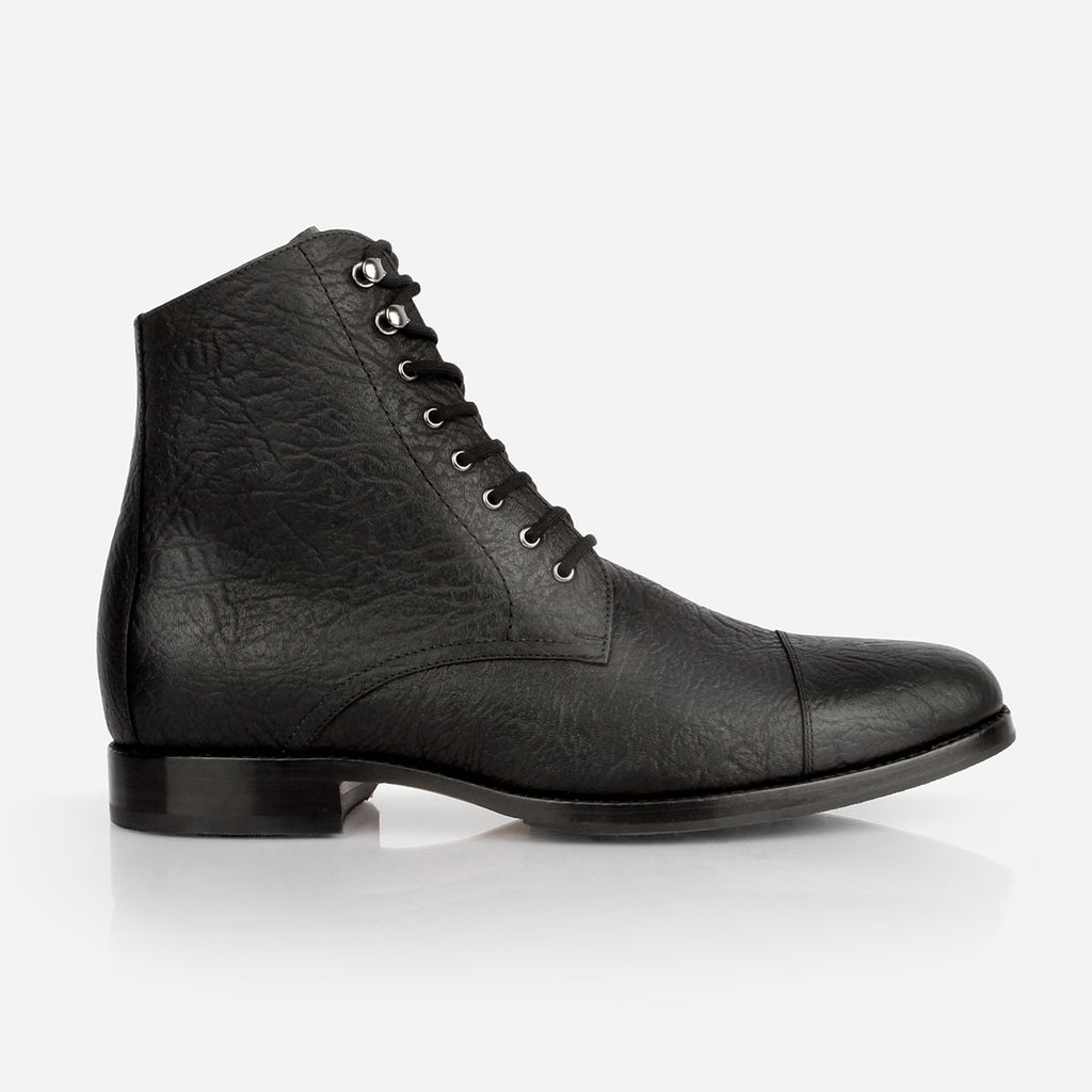 The Buffalo Boot Black Bison Made To Order