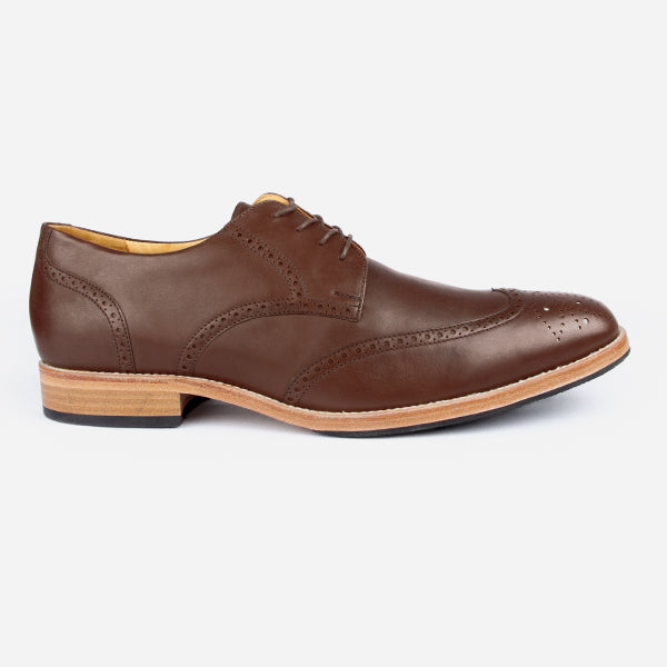 The Calgary Wingtip Brown Made To Order