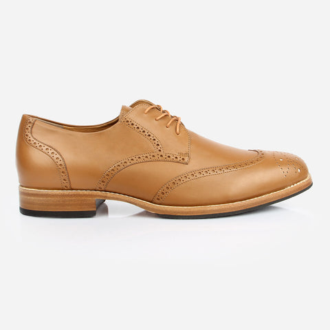 The Calgary Wingtip Tan Ready To Wear