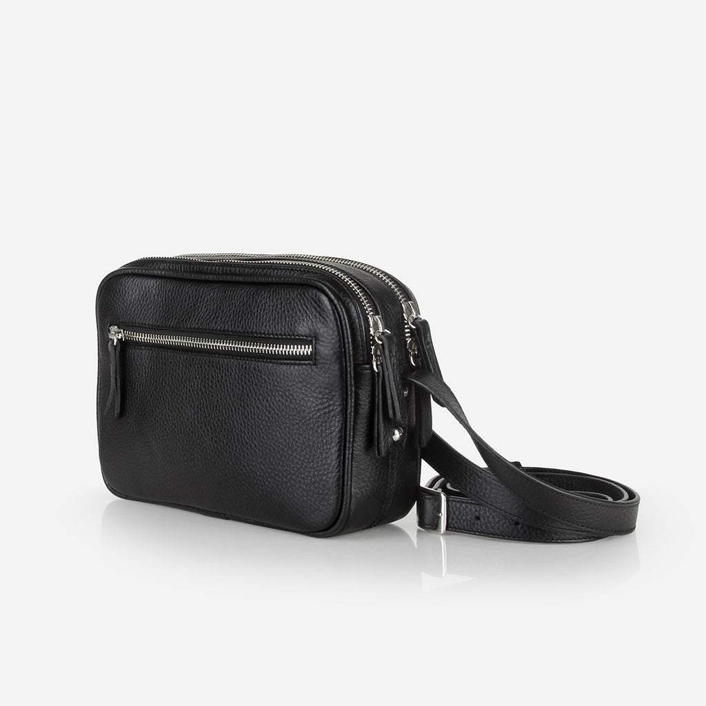 The Camera Bag Black Pebble