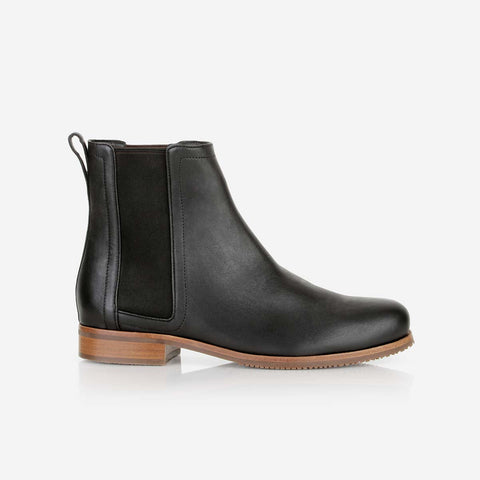 The Chelsea Boot Black Water Resistant Made To Order