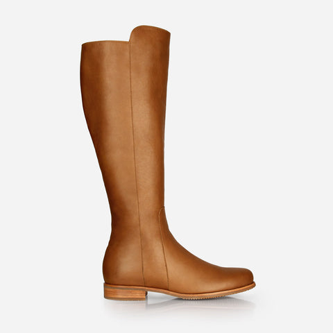 The City Tall Boot - Desert Tan- Poppy Barley